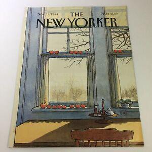 COVER-ONLY-The-New-Yorker-Magazine-November-19-1984-Arthur-Getz
