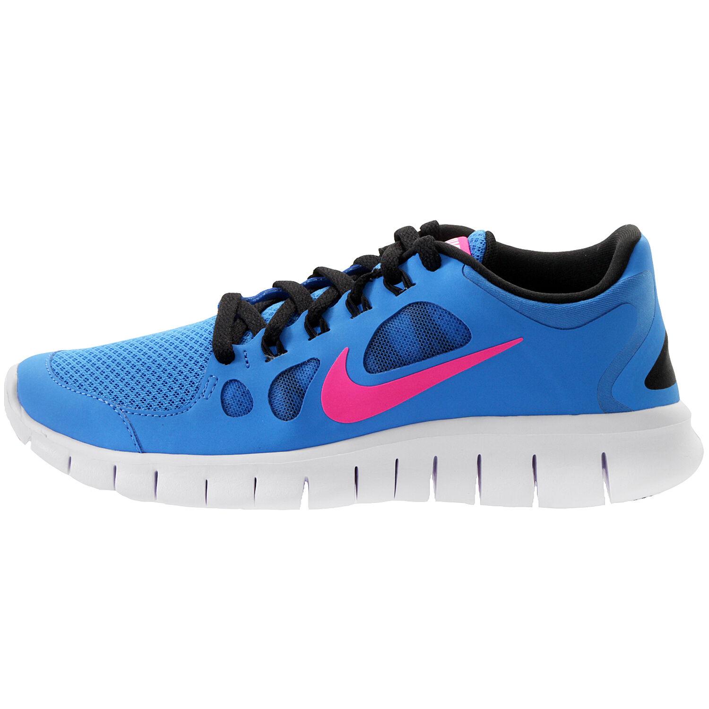 WMNS Nike Nike Nike Free Run 5.0 SZ 5 nero blu rosa GS 3.5y 580565-400 982bd1