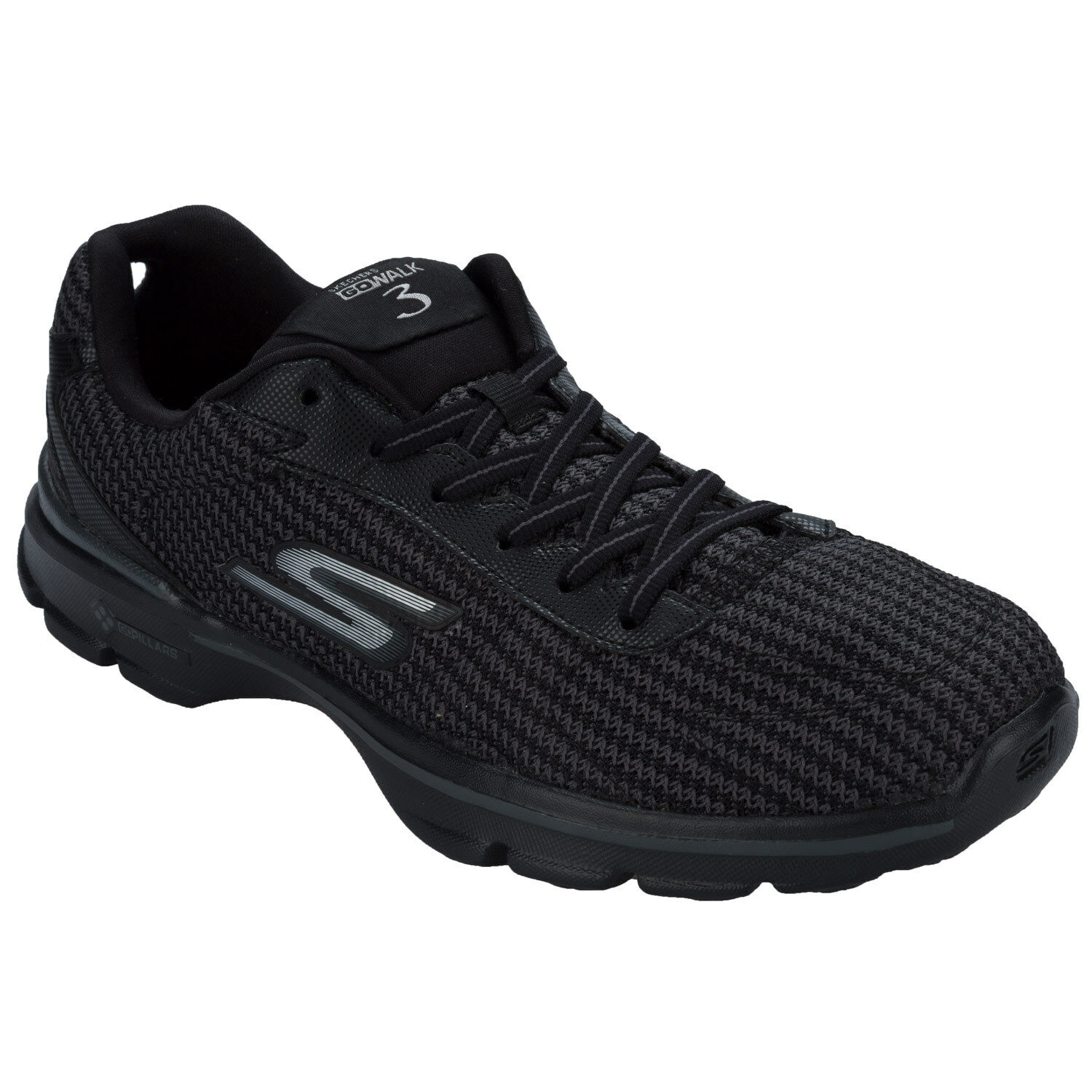 women Skechers Go Walk 3 fitknit Baskets black black black de Get the label 719450