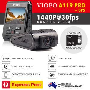 Viofo-A119-PRO-2K-5MP-GPS-Car-Dash-Camera-DVR-Capacitor-16GB-MicroSD-Bonus-AU