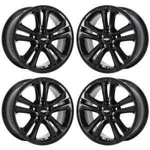 Image Is Loading 16 034 Chevrolet Cruze Lt Black Wheels Rims