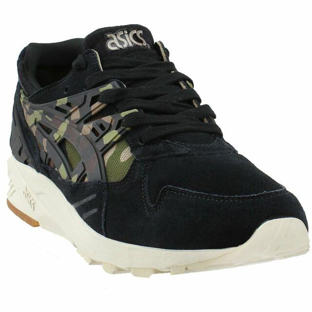 84423f9ab4774 ASICS Hl7c1 9086 GEL Kayano Black Camouflage Men's Running Shoes ...