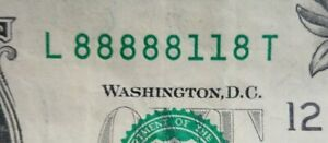 Federal-Reserve-Note-Fancy-Serial-Number-1-One-Dollar-Bill