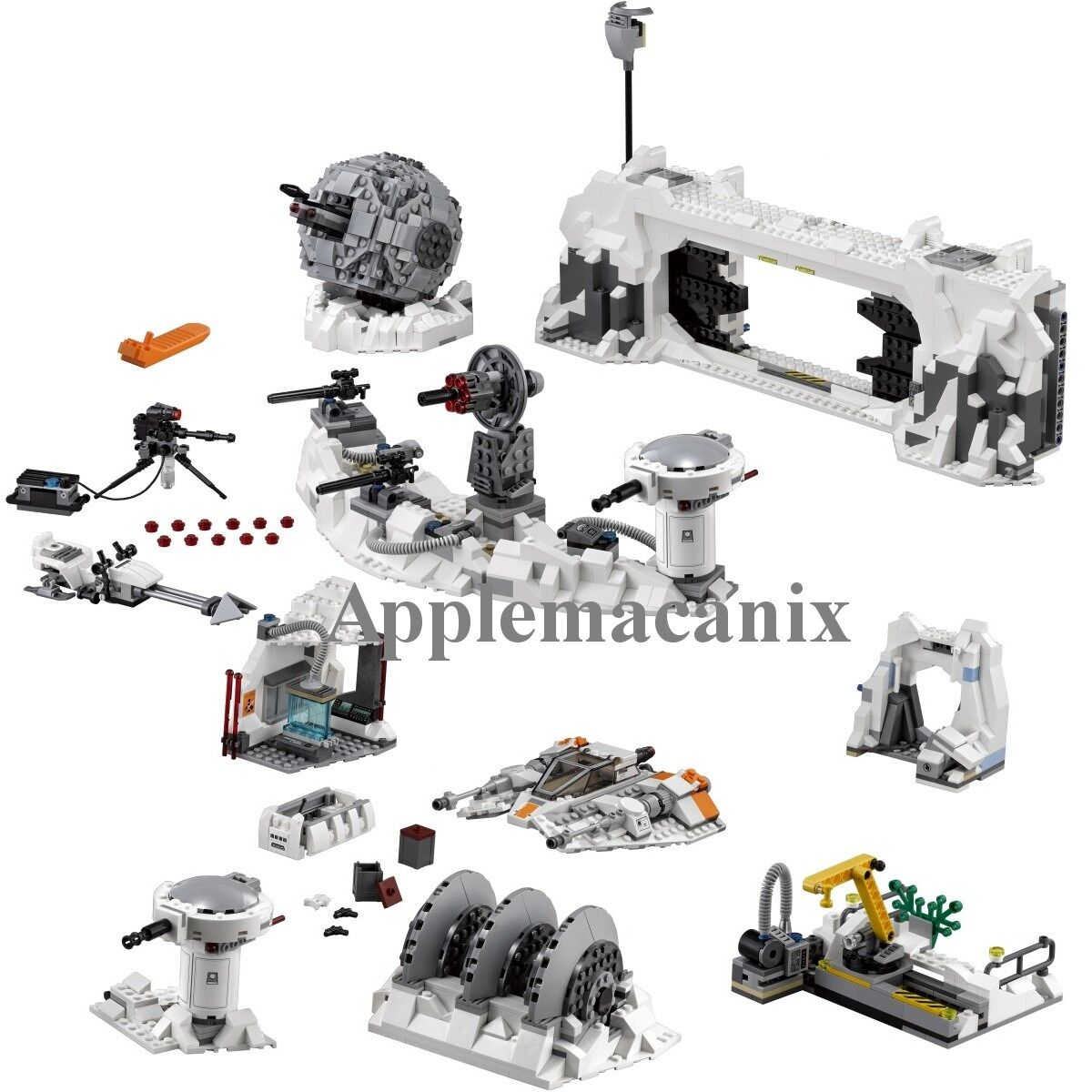 NEW LEGO 75098 Assault on Hoth Set & Manual NO MINIFIGURES - AUTHENTIC LEGO