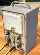 Vintage Heathkit V 4a Vtvm In Working Condition With Probes