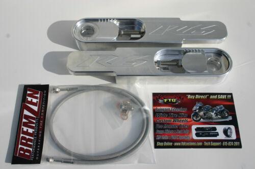 "2002 Yamaha YZFR6 Swingarm Extensions /& 36/"" Brake line YZF-R6 Swingarm Extension"