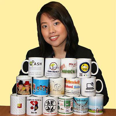FleißIg 1.000 Tassen Bedruckt Mit Foto Bild Motiv Logo Werbung *spülmaschinenfest
