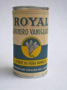 ROYAL ZUCCHERO VANIGLIATO BARATTOLO VINTAGE ROYAL BAKING POWDER PIENO ANNI '40 - Italia - ROYAL ZUCCHERO VANIGLIATO BARATTOLO VINTAGE ROYAL BAKING POWDER PIENO ANNI '40 - Italia