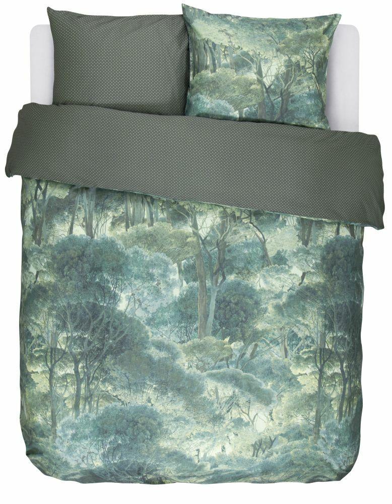 Essenza Home Home Home Baumwollbettwäsche Tyas  Größe   Farbe Grün | Am wirtschaftlichsten  94c5ea