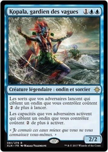 Kopala French//VF Warden of Waves//Kopala gardien des vagues MTG Magic XLN