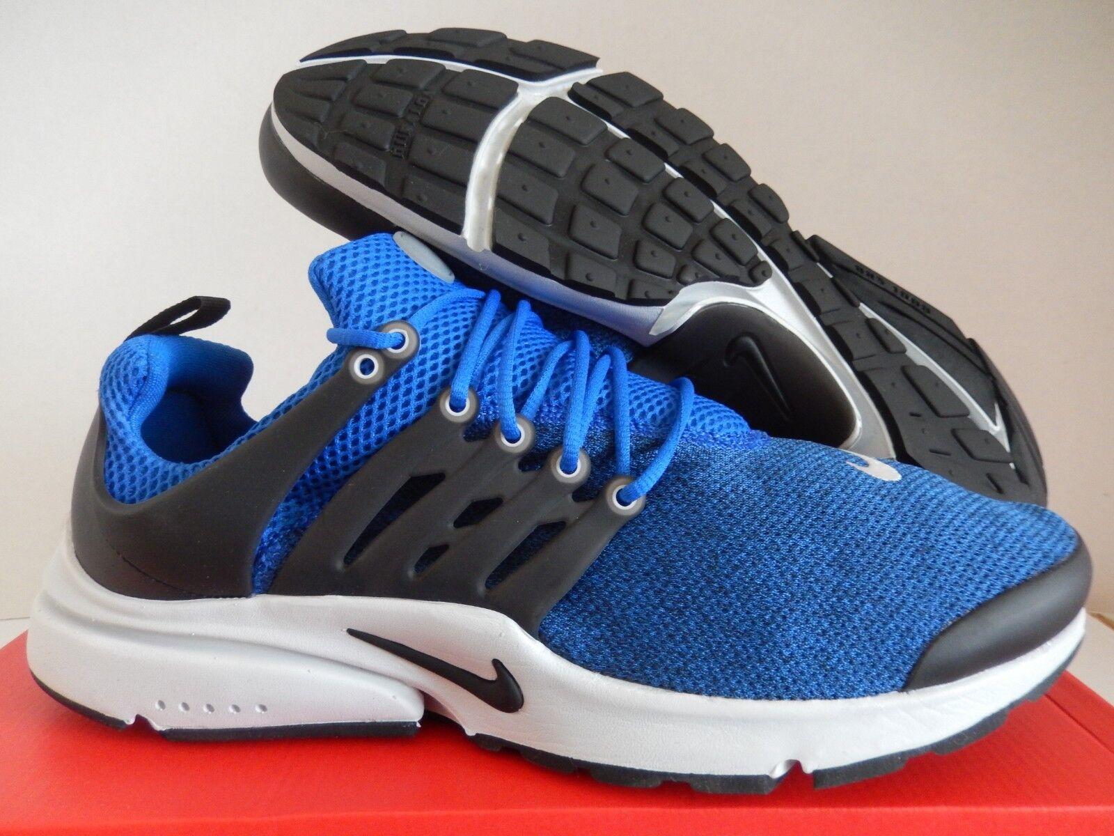 Nike air presto partita fondamentale partita presto royal blue-nero-nero sz 13 [848187-403] b1bf60