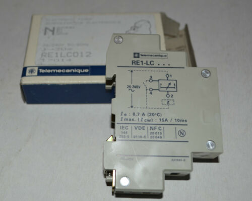 NEU//OVP 1-30 sek Telemecanique RE1-LC012 electronic timer 24//240V,50//60Hz