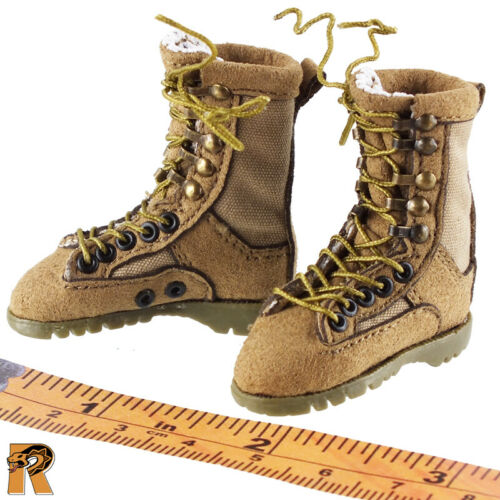 Tan Boots #2-1//6 Scale Very Cool Figures Villa Sister Flower Female Feet