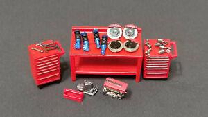 1-64-Ninety-One-car-repair-tool-parts-combination-24-set-Hand-made