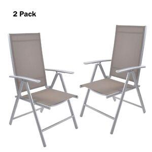 Fabulous Details About 2Pc High Back Beach Chair 7 Position Adjustable Folding Reclining Aluminum Chair Short Links Chair Design For Home Short Linksinfo