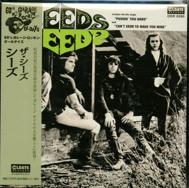 SEEDS-S/T-JAPAN MINI LP CD BONUS TRACK C94