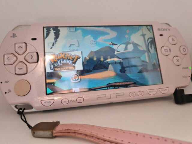 SONY PSP Playstation Portable Console Only PSP-2000 Japan Exclusive  Rose Pink