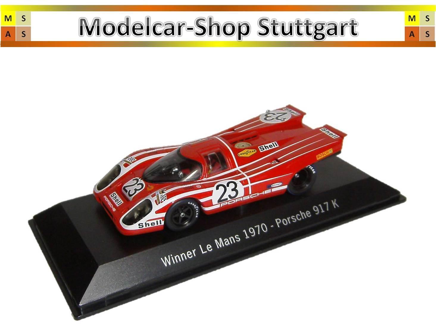 Porsche 917 K - Winner 24 H le Mans 1970 - Spark 1 43 - MAP02027013 - Nip
