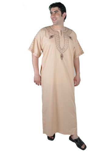 Moderner Herren Kaftan Hauskleid aus1001 Nacht in beige KAM00533