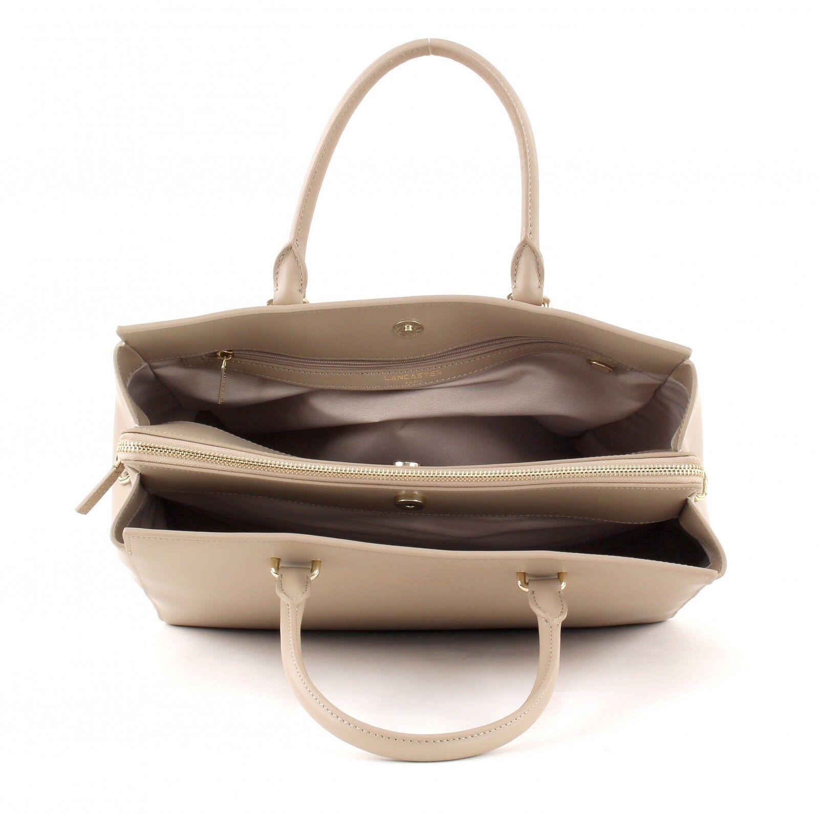 LANCASTER Camélia Hand Hand Hand Bag L Abendtasche Umhängetasche Beige | Discount  | Wir haben von unseren Kunden Lob erhalten.  | Erste Kunden Eine Vollständige Palette Von Spezifikationen  fc816a