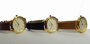 LIMIT-WOMEN-039-S-WATCH-Gold-Case-Hands-Clear-White-Face-Various-Colours-Available