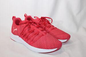 Puma 9.5 medium pink paradise Woven Mesh Lace Up Sneaker Prowl Alt ... 8b93a6965