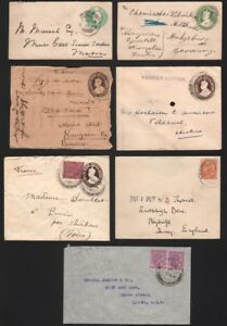 INDIA-1900-1940s-KGV-KGVI-Covers-Used-16