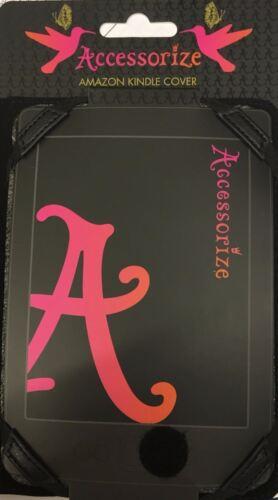 Wholesale job lot 80 x Amazon Kindle Covers Black Polka Dot Floral Design NEW