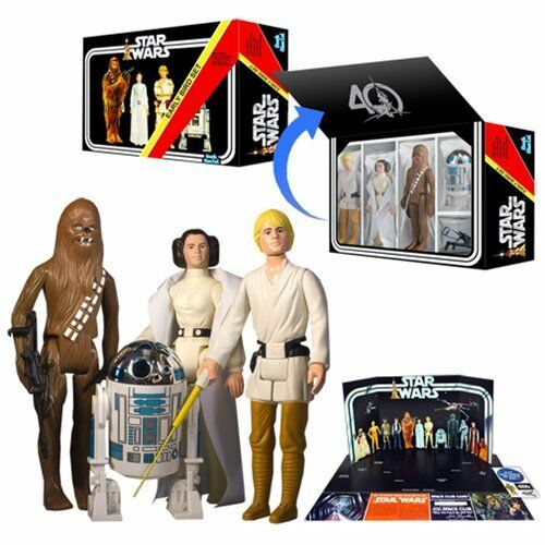 Star Star Star Wars Jumbo Vintage Retro Early Bird Kit Kenner 12 Action Figures - NEW 6feb05