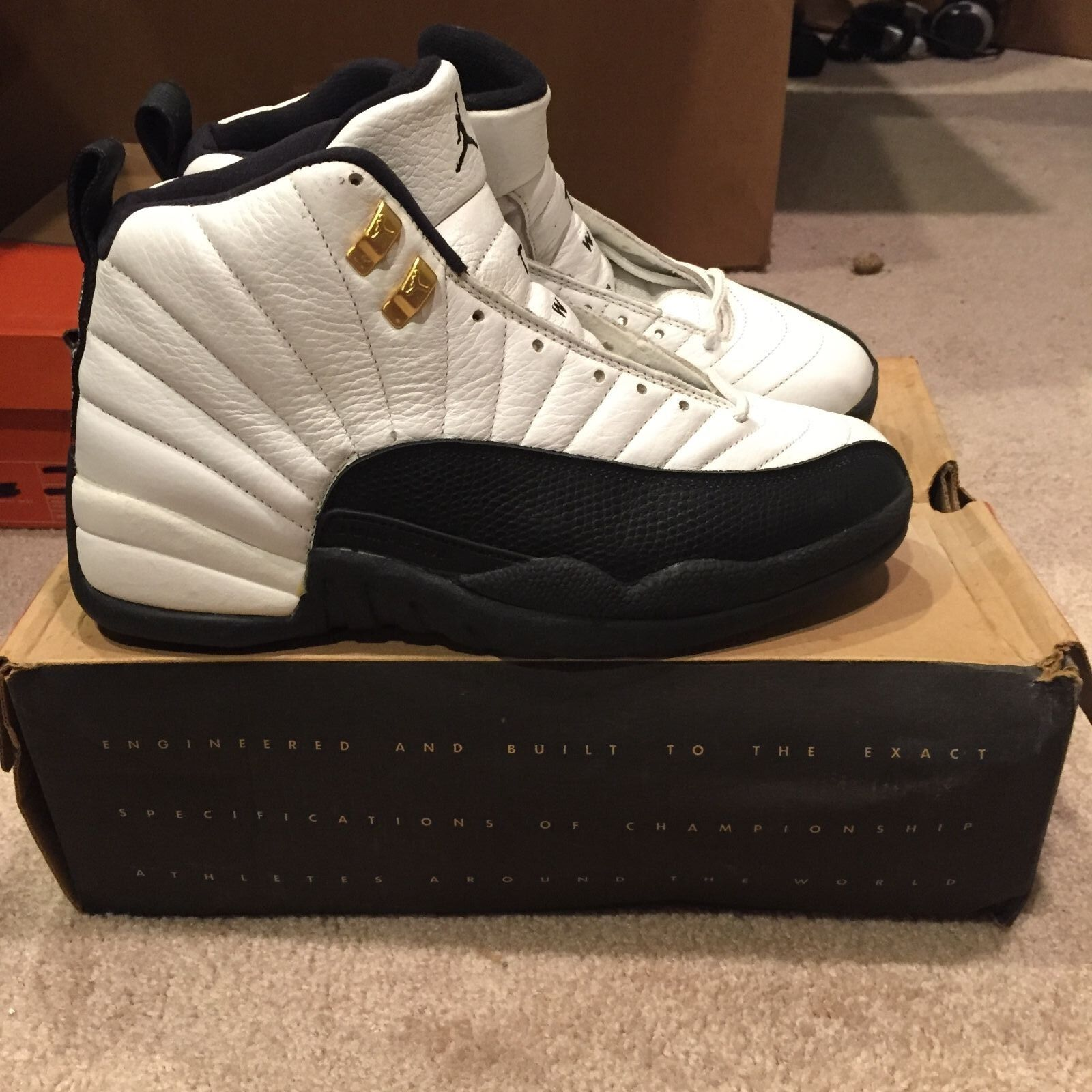 Nike Air Jordan XII 12 Taxi 1996 OG DS NIB Price reduction Seasonal clearance sale