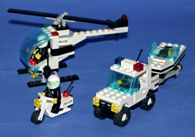 LEGO 6354 6354 6354 - Legoland - Pursuit Squad - 1990 - NO BOX d864d2