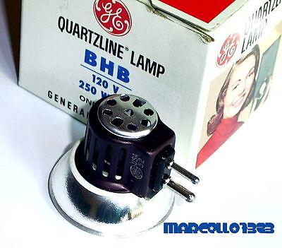 LAMPADA BHB 120 V 250 W GY7.9 PER PROIETTORE 16 mm  (Bell & Howell)