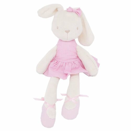 Cute Bunny Rabbit Stuffed Animal Plush Toy Baby Kids Soft Bed Pillow Toy Gift