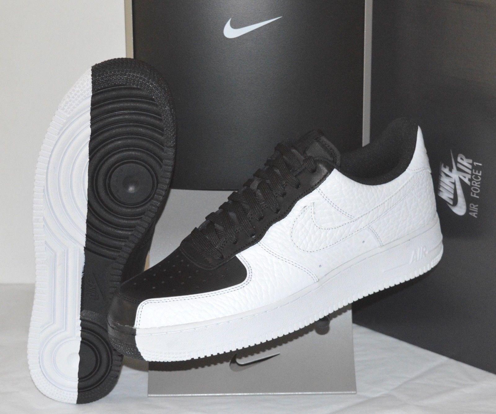 New Nike Air Force 1 '07 PRM Split Black-White Scarface One Premium Split PRM Yin Yang 11 1a1b78
