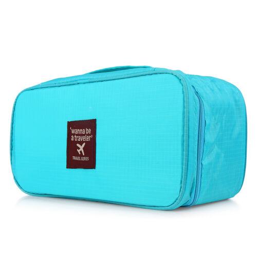 Waterproof Clothes Underwear Packing Storage Travel Luggage Organizer Bag BS