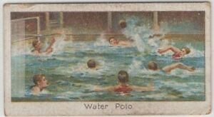 Water-Polo-Sport-Swimming-1920s-Trade-Ad-Card