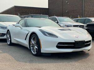 2018 Chevrolet Corvette Z51 NAVI, 360 CAM, SUNVIEW, RED LEATHER INTERIOR