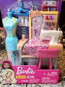 Barbie Careers Fashion Design Sewing Studio Play Set Fashion Designer Playset 887961696967 Ebay
