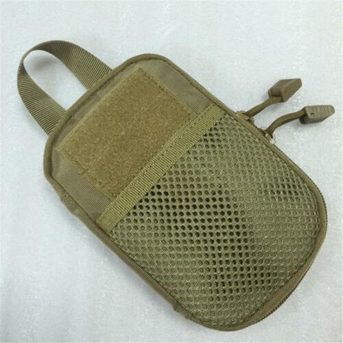 Men Ourdoors Tactical Molle Medical First Aid EDC Pouch Pocket Bag Organizer US