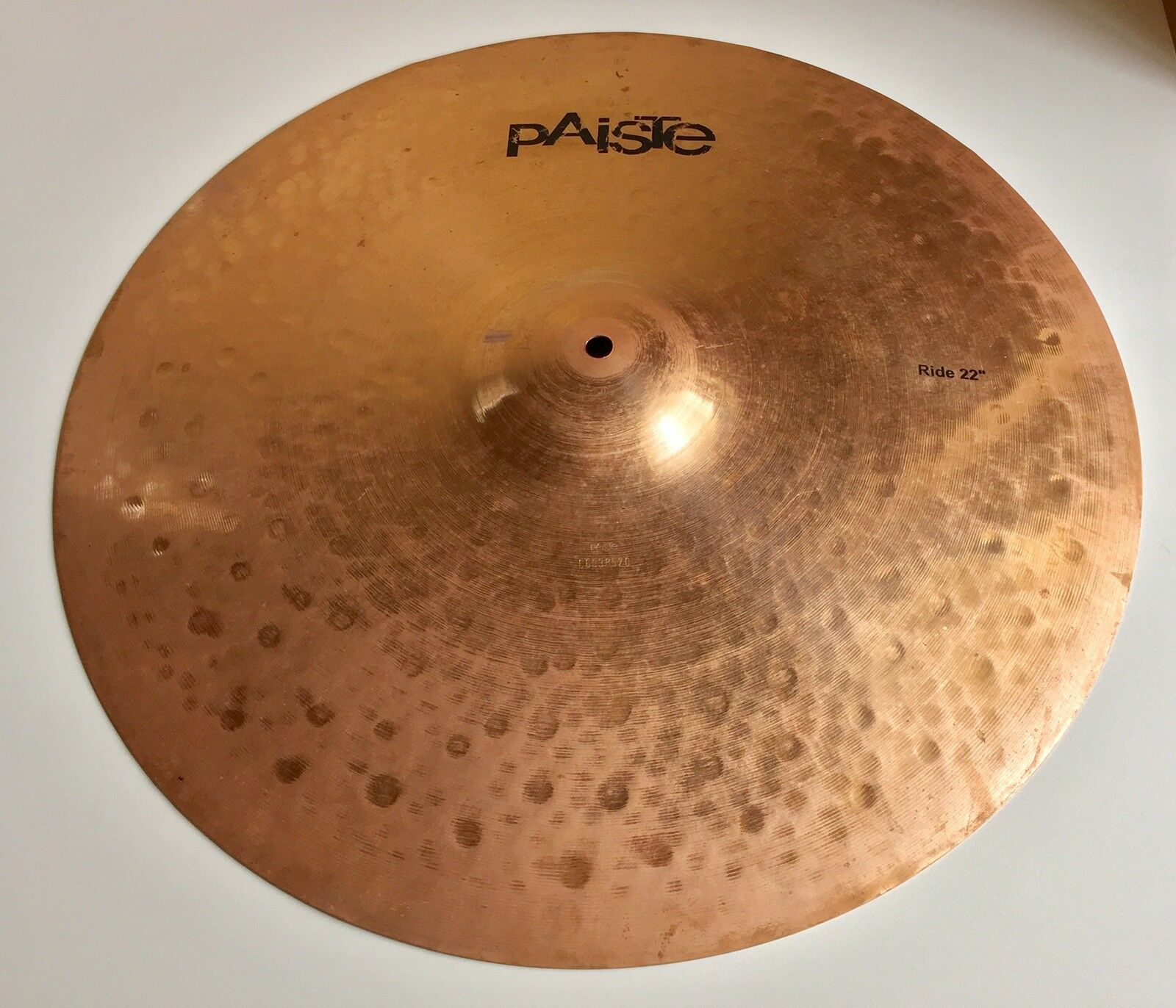 22  Paiste Prototype Ride Cymbal, 3294 Grams