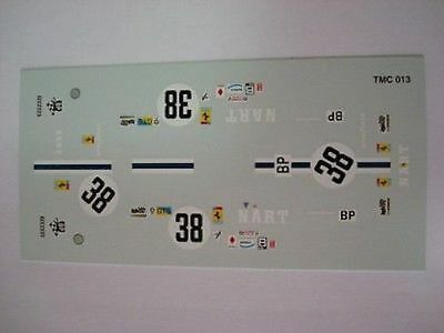 FERRARI 365 GTB4 DAYTONA LE MANS 1973 FISONS N.34 1//43 DECAL NEW