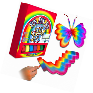 Details about SHEFIZ Magic Art Set Rainbow Paint For Kids Including Brushes  Arts and Crafts Gi