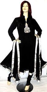 Shalwar-kameez-eid-black-pakistani-designer-anarkali-stitched-sari-abaya-dress-6