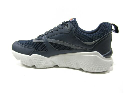 Scarpe Sneakers da Uomo ellesse SCOT in eco Pelle alte Sportive Tennis con lacci