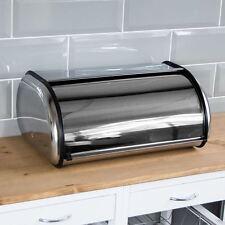 Cestino di pane rotolo superiore cucina storage contenitore in acciaio inox da casa SCONTO