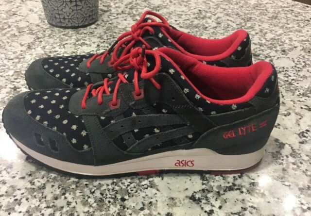 newest collection 46de0 9f4a4 Men's Size 11 Bait x Asics Gel-Lyte III 3 Nippon Blues Embroidered Shoes