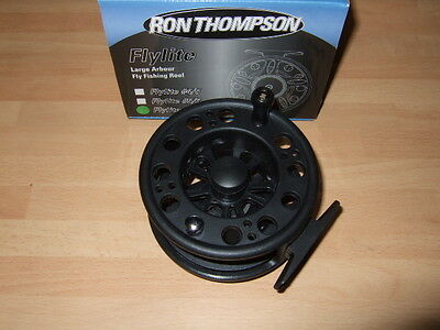 2 x Ron Thompson flylite #5//6 Large Arbour Trout Fly Fishing Reel Large Arbor