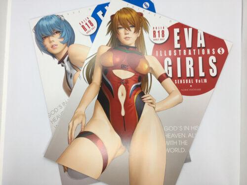 Evangelion Color Fan Art Book EVA GIRLS ILLUSTRATIONS 5 /& 6 Set C96 97 Doujinshi