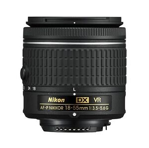 NEW-Nikon-D-Series-AF-P-DX-NIKKOR-18-55mm-f-3-5-5-6G-VR-DSLR-Camera-Lens