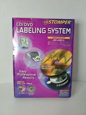 Cd Stomper Professional Edition Cddvd Labeling System Complete Kit 600 Labels